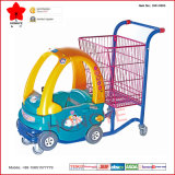 Supermarché Kiddie Shopping Trolley avec Baby Seat (OW-C003)