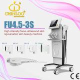 Ultra-som focalizado Hifu da intensidade elevada de Fu4.5-3s que Slimming a máquina para o aperto da pele