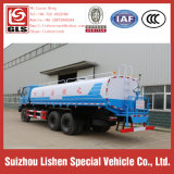 Transmission manuelle Dongfeng Water Tank 15000 litres Rhd Water Sprayer Truck à vendre 15ton Water Tanker Truck