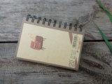 Тетрадь изготовленный на заказ китайского миниого книга в твердой обложке спиральн