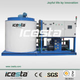 Acqua-Cooled Flake Ice Maker di 15ton/Hr Industrial