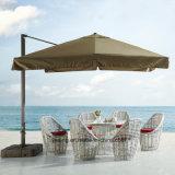 Nuova mobilia esterna del giardino Aluminum+PE-Rattan che pranza insieme da Chair&Table come 6-8person sede (YT623-1)