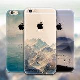 Аргументы за покрашенное ландшафтом TPU мягкое iPhone6 способа ультра тонким