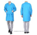 Manteau de vêtements de travail de qualité de promotion de 8 couleurs long