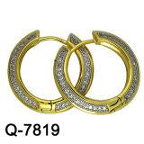 Gold Plating를 가진 925 영화 Silver Earring