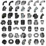 Instalaciones de tuberías del hierro maleable