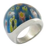 De Ringen van de Vinger van de Steen van de Halfedelsteen van de bloem