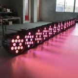 De Verlichting van het Stadium van DJ van de Disco van het Huwelijk Rgbaw van het aluminium 12PCS