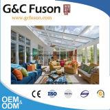 Customeの庭ガラスはアルミニウムプロフィールガラスのSunroomを収容する