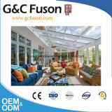 Custome Garten-Glas bringt Aluminiumprofil-GlasSunroom unter