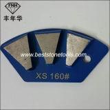 Abschleifender magnetischer reibender Schuh des Diamant-J20 für Segment des Beton-3