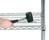 Shelving провода крома утверждения качества регулируемый