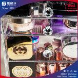 Acrylkosmetik-Verfassungs-und Schmucksache-Speicher-Fall-Bildsätze