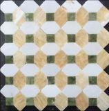 Mezcló el color natural de mosaico de piedra para la televisión fondo de la pared (FYSSC048)