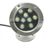IP68セリウムRoHS 9W High Power LED Underwater Light DC12V DC24V