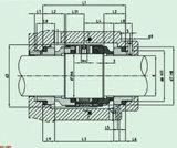 Burgmann mechanische Standarddichtung für doppeltes Ende (HBB803)