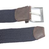 革コンバインが付いている新しいカスタマイズされた編まれた伸張によって編まれる伸縮性があるベルト