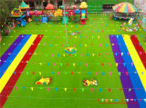 Rainbow Running Grass Track per Kindergarten con Good Market Share
