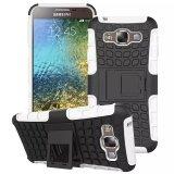 Caja híbrida del teléfono de Kickstand para Samsung E5