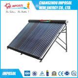 Tipo caliente colector solar de U del tubo para el calentador de agua