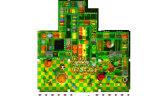Patio suave de interior del tema de la selva para los juegos de niños