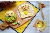 Bandeja de bambú / madera / Café / Bandeja para servir / frutas / Utensilios de cocina / vajilla