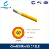 Distribution multi de fibre optique d'intérieur de but du câble GJFJV de qualité avec le faisceau de la gaine 2-24 de LSZH