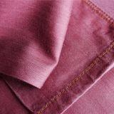 Denim 100% di colore di Dued del filato di colore solido del cotone