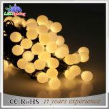 Bola LED de cadena de decoración al aire libre coloridos vacaciones Luces de Navidad