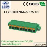 Pluggable разъем терминальных блоков Ll2edgkng-5.0/5.08