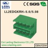 Connettore Pluggable dei blocchetti terminali Ll2edgkrhg-5.0/5.08