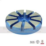 Outil de préparation/principal de diamant en métal d'obligation d'étage de meulage de plaque de roue