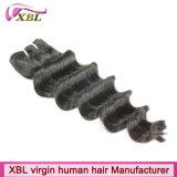 Выдвижения волос новых индийских волос Remy свободные глубокие