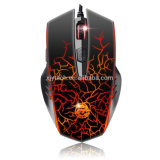 6 USB Wired Gaming Mouse Dpi Adjustable Optical кнопок 2400 с 6 Colors Breathing СИД