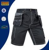 까만 화물 간결이 남자의 여름 일에 의하여 작업복 다중 포켓 누전한다