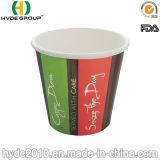 Бумажный стаканчик размера 4oz Samll промотирования устранимый горячий