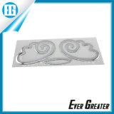PVC poco costoso Sticker di Custom Chrome 3D Soft con Your Design