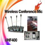4 Kanalberufsgooseneck-drahtloses Konferenz-Mikrofon