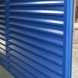 Голубое алюминиевое окно штарки профиля Kz204