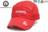 Elegante impressão de chapéu de sol de golfe de poliéster de proteção / boné desportivo