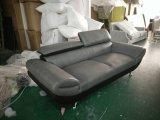 Il più nuovo sofà di cuoio del Recliner delle due sedi ha impostato per la casa (GLS-016)