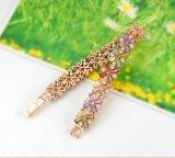 Zircon embutido oro de las mujeres Wedding las pulseras nupciales (CBR0011-C)