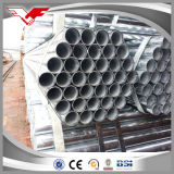 Diámetro externo 48.3m m del tubo del andamio tubo galvanizado 1.5 pulgadas