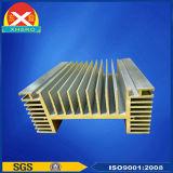 Dissipatore di calore di alluminio di profilo dell'espulsione utilizzato per l'invertitore a tre fasi