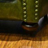 Chesterfield-europäische Art-modernes Wohnzimmer-Leder-Sofa