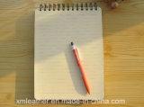 사무용품 두꺼운 표지의 책 메모 구성 노트북