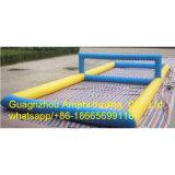 Il campo gonfiabile, innaffia la corte gonfiabile, giacimento gonfiabile dell'acqua di pallavolo