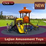 CE de la alta calidad los niños al aire libre plástico Playground (X1239-10)