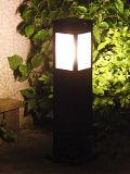 Luz nova do projeto para a iluminação do jardim ou do gramado