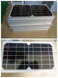 Panneau solaire élevé d'Effiency 10W16V avec le port Mc4